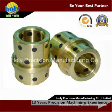 Customized Made Brass CNC Machining Precision Turned Parts with Plated
