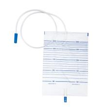 Sac d'urine médical portable jetable de haute qualité