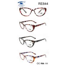 Vidrios de lectura coloridos de la alta calidad de las mujeres de la manera (RE844)