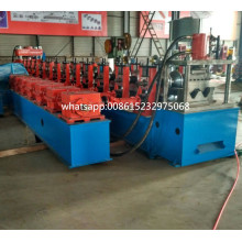 Fullautomatisk Metal Sheet Highway Guardrail Machine