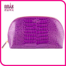 Wholesale Brand Stone Grain PU Leather Designer Cosmetic Bag Travel Organizer Toiletry Bag Purse