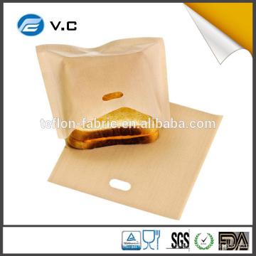 Sac de grille-pain anti-adhésif à haute température fabriqué en Chine