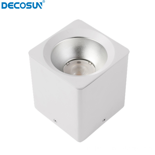 Downlight cylindrique carré rond