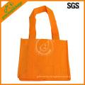 cheap eco orange nonwoven wine bottle bag