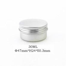 Pot de jarre en aluminium de qualité 30ml