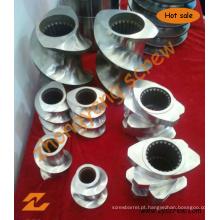Elemento de Parafuso e Barril Segmentado para Máquinas de Plástico