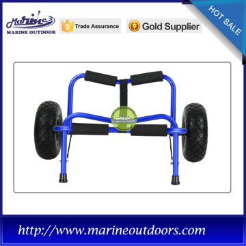 Aluminum boat trailer, Outdoor anodized cart, kayak cart trolley