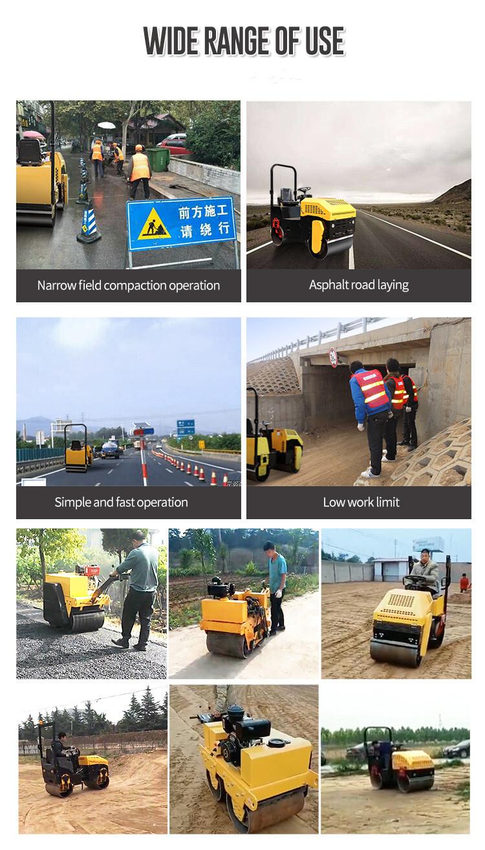 road roller applications