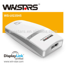 Usb to HDMI/DVI/VGA Adapter, 5Gbps Super Speed USB Adapter,no power supply needed