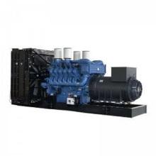 Grupo gerador a diesel aberto MTU