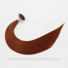 Nail Pre-Bonded Type and Remy Hair Grade U Tip Hair Extension