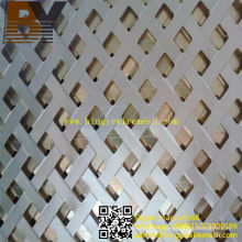 Feuille perforée en aluminium de haute qualité