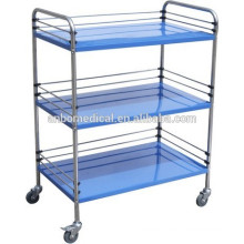 S.S. instrument trolley& medical trolley