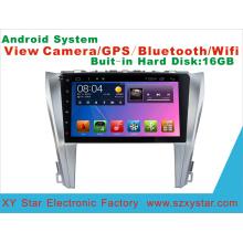 Sistema Android de navegación GPS coche DVD para Toyota Camry 10,1 pulgadas de pantalla táctil con WiFi / TV / MP4
