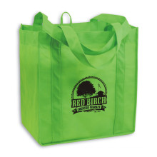 Wholesale eco-friendly custom printeding non woven shopping with printed logo