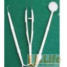 Kit dentaire jetable avec CE et ISO (3 en 1)