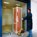 Levante el elevador del transporte de la carga del peso del cargo del almacén de la fábrica