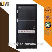 Cheap wholesale one hour fire rated door,wood panel door design,vision panel fire doors
