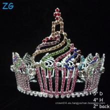Coronas magníficas de la magdalena rosada, Tiara por encargo para las muchachas
