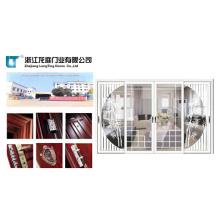Porte de salle de bains en aluminium approuvée par Soncap