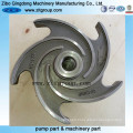 Lost Wax Casting / Investment Casting Centrifugal Pump Impeller