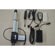 Electric linear actuator motor for adjustable chair