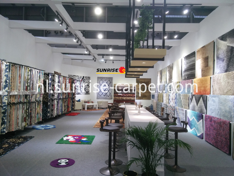Domotex Asia Fair of SUNRISE CARPET