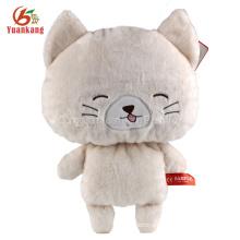 ICTI lovely cheap plush CAT toys stuffed cat wholesale plush stuffed toys