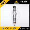 KOMATSU SAA6D140E-3 ENGINE INJECTOR 6218-11-3100