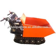2015 wholesale 9hp 500kgs manual tipping mini truck dumper,manual tipping crawler mini dumper,manual tipping mini track dumper
