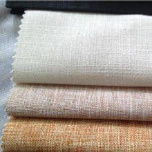 70% Cotton 30% Linen Fabric Slub Pattern Fabric Linen Blend Cotton