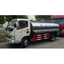 Dongfeng 4x2 stainless steel milk water tanker truck