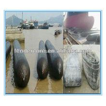 Qingdao sunk ship inflatable air lifting bag