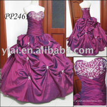 2011 manufacture free shipping high quality beaded lace sexy ball gown prom dress 2011 PP2461