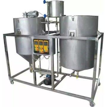 Machine de raffinage d'huile 250L / Hr pour raffinerie d'huile d'arachide