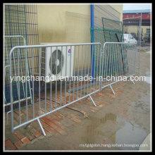 Galvanized Crowd Control Barrier/Temporary Barricade