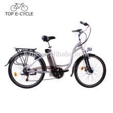Wholesale City style electric bike with motor 36V 250W electric bicycle 10Ah powerful ebike