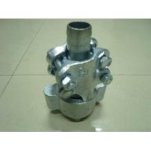 Steel, Malleable iron Interlocking clamp / Interlock hose clamp