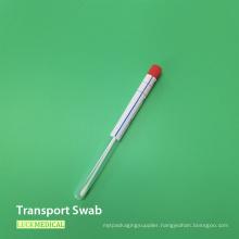 PS Plastic Bacterial Culture Swab in Tube