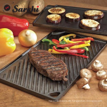 BBQ Durable Double Play Griddle Pan.46 * 26 * 1,5cm