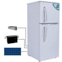 Refrigerador y refrigerador solar de doble puerta con panel solar