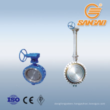 wholesale manual drive butterfly valve metal seal wafer limit switch butterfly valve