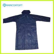 100% Polyester PVC Coating Men′s Raincoats (RPY-041)
