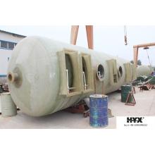 Tanque de FRP para geração de metano