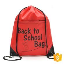 eco-friendly factory price polyester gym child school slazenger backpack bag