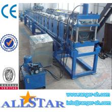 China Half Round Gutter Making Machine