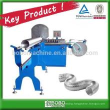 Flexible aluminium duct machine