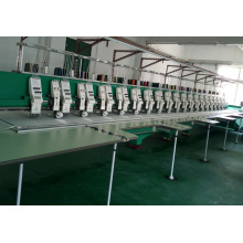 19 heads coiling flat mixed embroidery machine