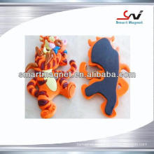 Imán del refrigerador del PVC 3D de la animación del recuerdo