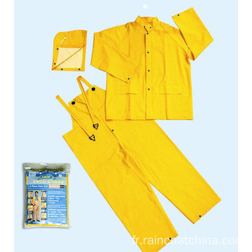 Capuche détachable PVC / polyester Rainsuit